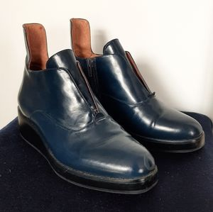 Dark Blue Jeffrey Campbell oxfords